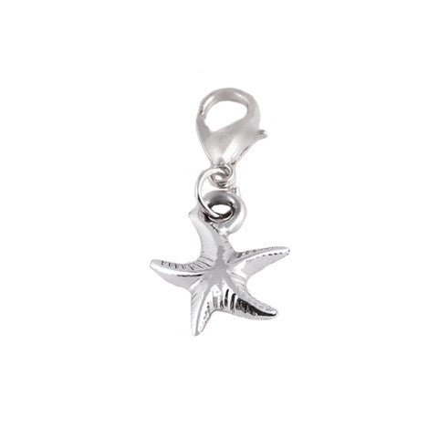 VINTAGE SILVER STARFISH DANGLE - Statelight