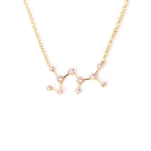SAGITTARIUS CELESTIAL ROSE GOLD NECKLACE - Statelight
