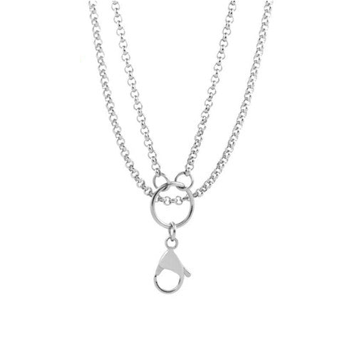 "STAINLESS STEEL 32"" SILVER CHAIN - Statelight"