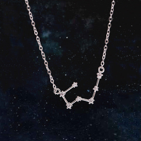 TAURUS CELESTIAL NECKLACE in 925 Silver - Statelight