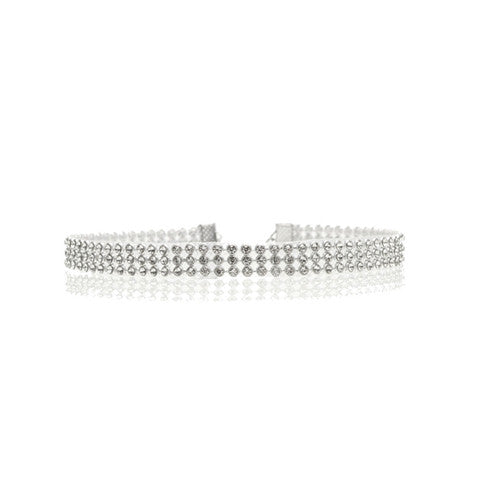 AMELIA RHINESTONE CHOKER (in Sleek) - Statelight