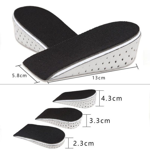 Shoe lift insole quality assured