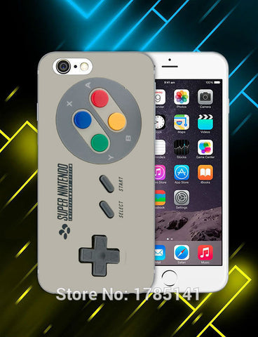 1pcs super nintendo Entertainment System hard white Skin Case for iphone6 (4.7inch) and iphone6 plus(5.5inch) Retail