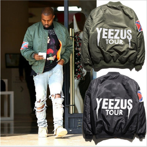 KANYE WEST YEEZUS tour jackets limit edition