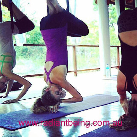 4 week Fly High Aerial Yoga Class