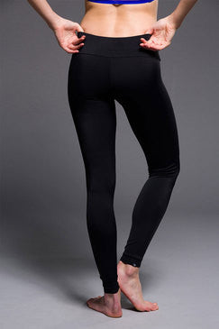 Onzie Long Black Yoga Pants