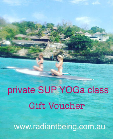 Private SUP Yoga Class Gift Voucher