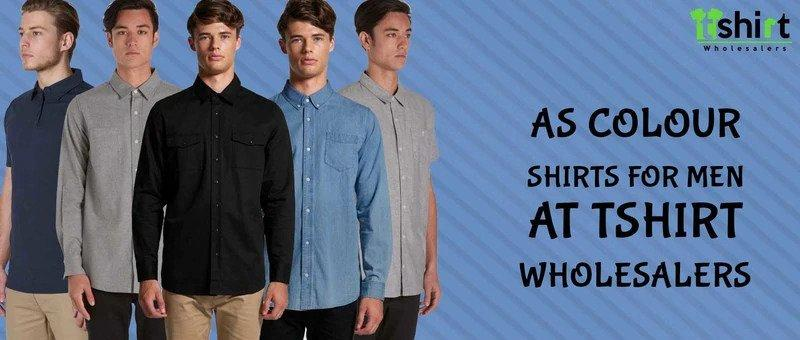 AS Colour Shirts for Men at T shirt Wholesalers