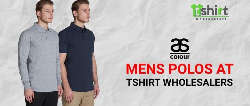 AS Colour Mens Polos at Tshirt Wholesalers
