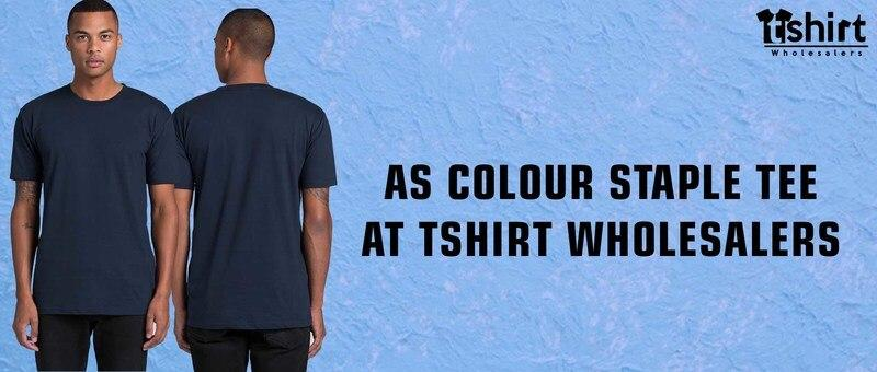 AS Colour Staple Tee at Tshirt Wholesalers