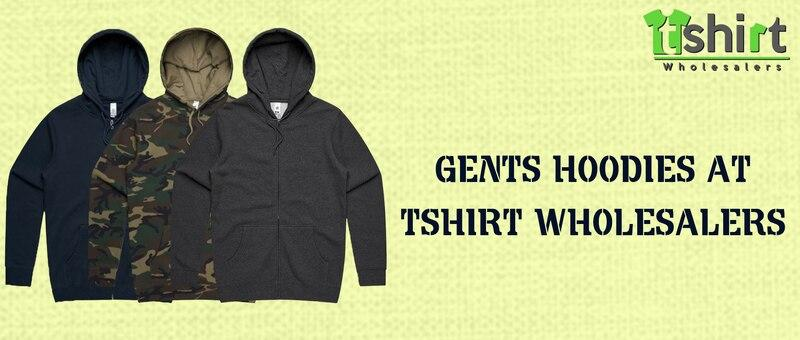 Gent's Hoodies at T- shirt Wholesalers