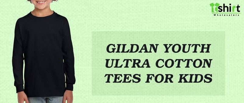 Gildan Youth Ultra Cotton Tees for Kids
