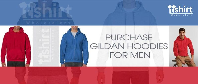 Purchase Gildan Hoodies for Men