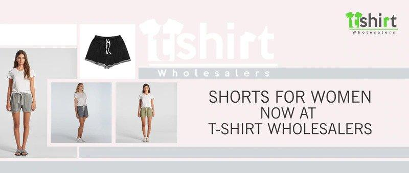 Shorts for women now at T-Shirt wholesalers