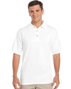 Gildan-Gildan Ultra Cotton™ Classic Fit Adult Jersey Sport Shirt-White / S-Uniform Wholesalers - 5