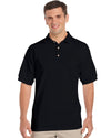 Gildan-Gildan Ultra Cotton™ Classic Fit Adult Jersey Sport Shirt-Black / S-Uniform Wholesalers - 1