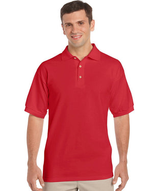 Gildan-Gildan Ultra Cotton™ Classic Fit Adult Jersey Sport Shirt-Red / S-Uniform Wholesalers - 3