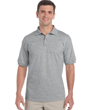 Gildan-Gildan Ultra Cotton™ Classic Fit Adult Jersey Sport Shirt-Sport Grey / S-Uniform Wholesalers - 4