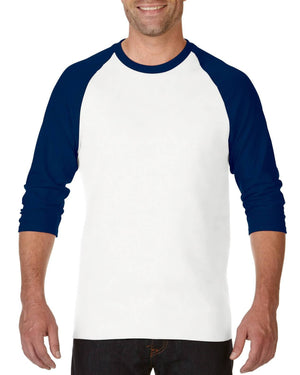 Gildan Adult Heavy Cotton Raglan 3/4 Sleeve-(5700)