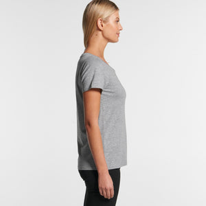Ascolour Wo'S Shallow Scoop Tee-(4011)