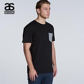 Ascolour Staple Pocket Tee-(5010)