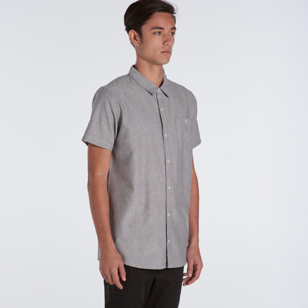 Ascolour Oxford S/S Shirt-(5407)