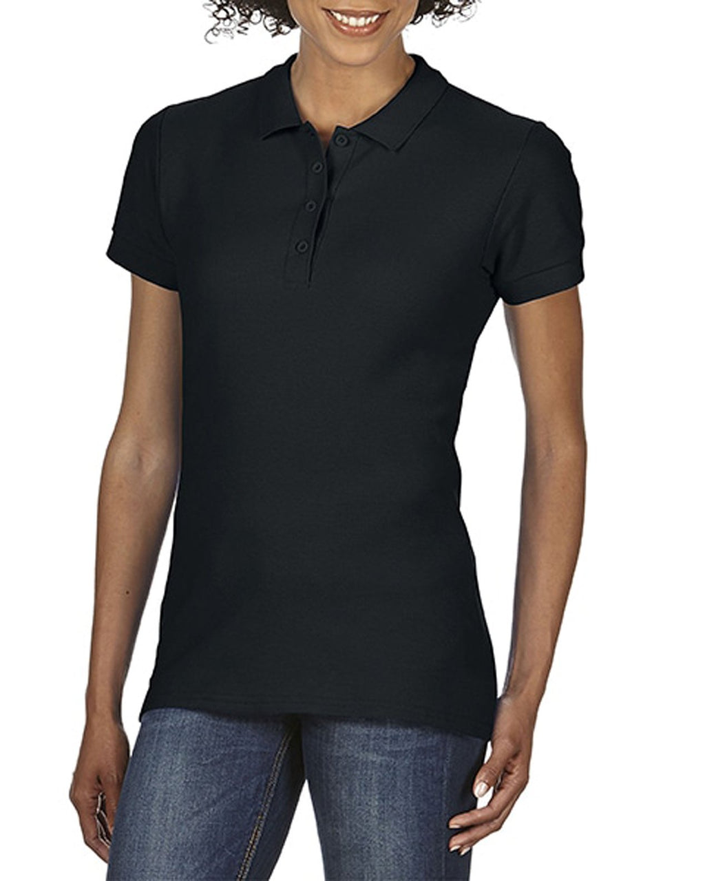 Gildan Softstyle Ladies Double Pique Polo (64800L)