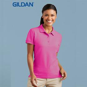 Gildan Ladies Cotton Double Pique Polo-(82800L)