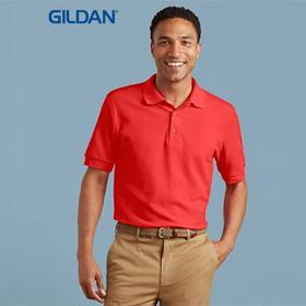 Gildan Adult 100% RS Cotton Double  Pique Polo-(82800)