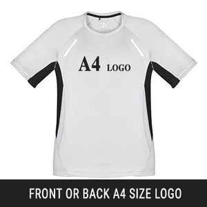 Heat Transfer Front/Back A4 Size Logo