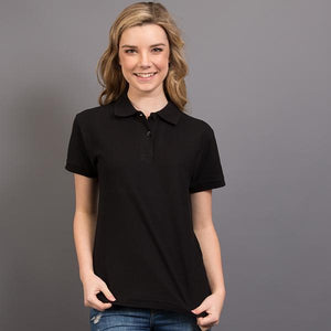 Sportage Ladies Raven Poly/Cotton Pique Knit Polo (4943)