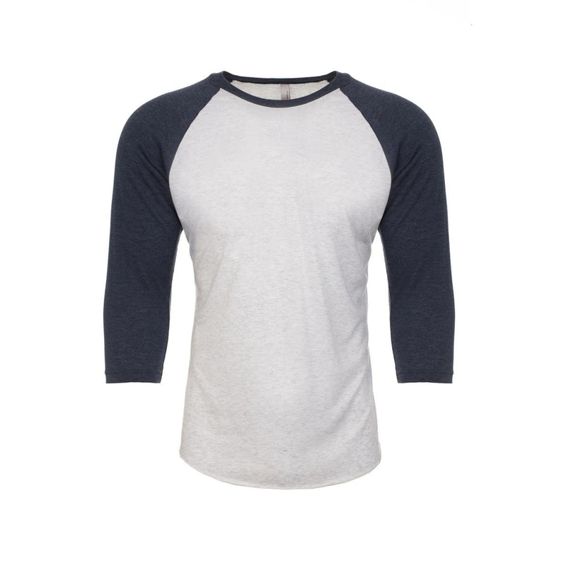 Next Level Apparel Unisex Tri-Blend 3/4 Raglan (NL6051)
