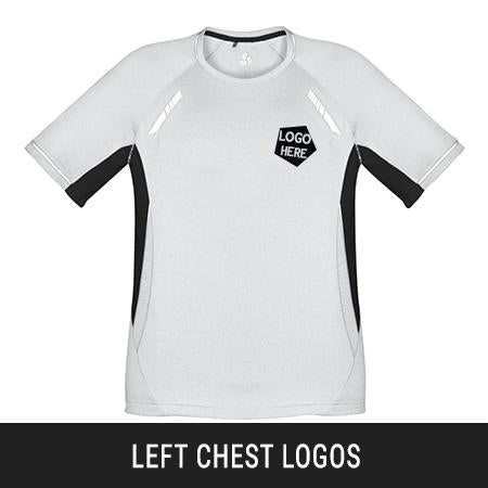 Heat Transfer Left/Right Chest Logos