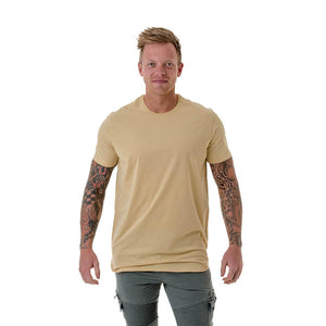 CB Clothing Mens Long Curved Tee (M15)
