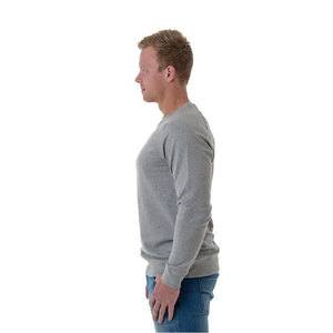 CB Clothing Mens Unbrushed Crew Neck Jumper (M12)