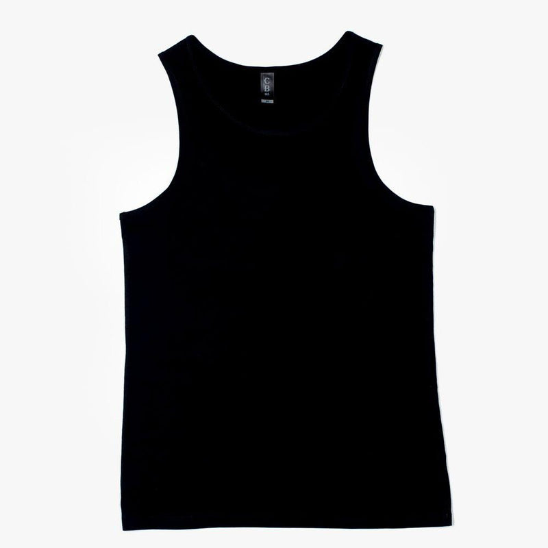 CB Clothing Mens Traditional Singlet (M8)