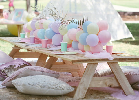 A SWEET PASTEL PICNIC 2ND BIRTHDAY | BY BEC HARNAS