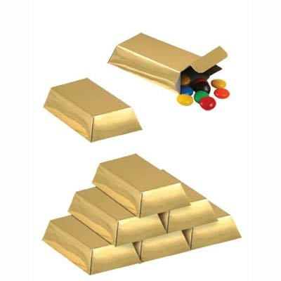 Pirate Gold Bars Party Favor Boxes