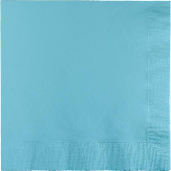 Pastel Blue Paper Cocktail Napkins