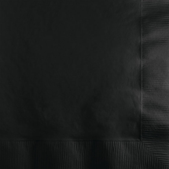 Black Paper Cocktail Napkins
