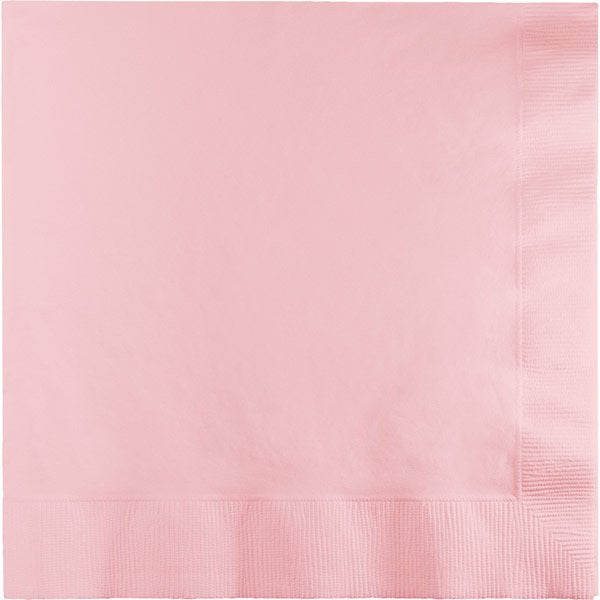 Classic Pink Paper Cocktail Napkins 50pk