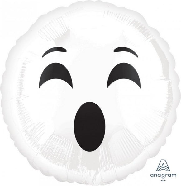 Emoticon Ghost | #BOO Foil Balloon