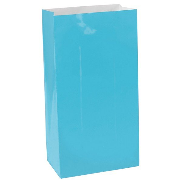 Caribean Blue Paper Party Bags