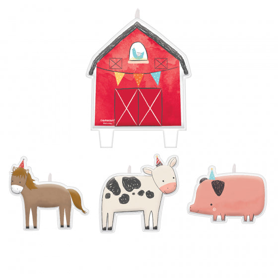 Barnyard Party Candle Set