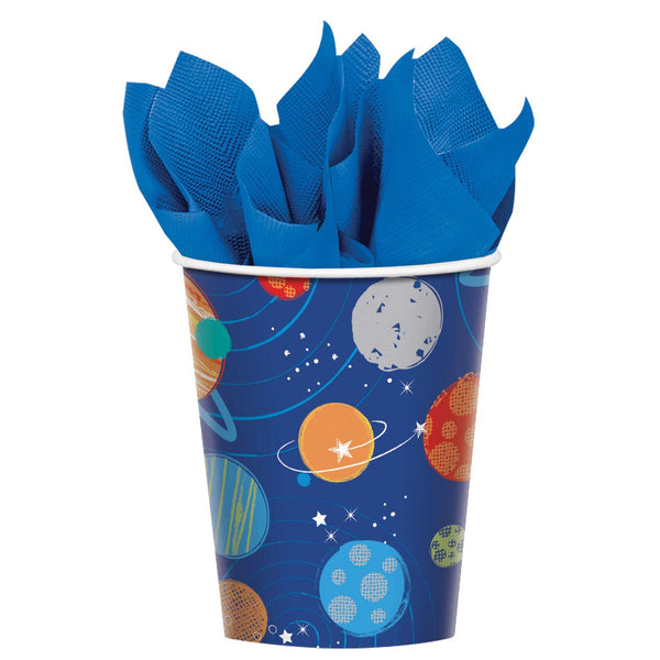 Blast Off Paper Cups
