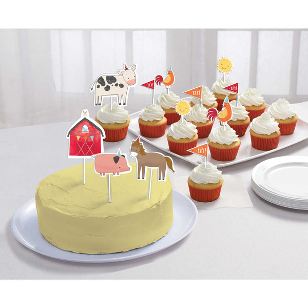 Barnyard Party Cake Topper Kit