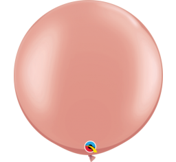 Jumbo Round Balloon - Rose Gold