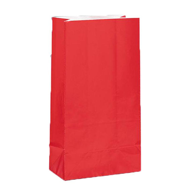 Red Paper Party Bags