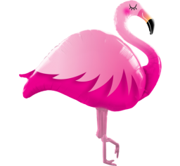 Jumbo Pink Flamingo Shape Balloon