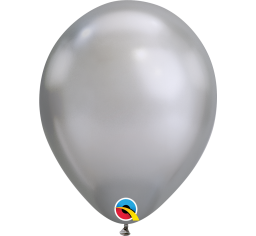 30cm Chrome Silver Balloon